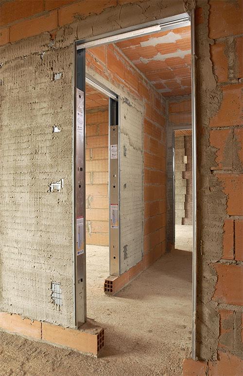 Puertas correderas tipologia de puerta empotrada eclisse - Puerta de paso corredera ...