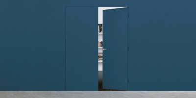 Syntesis Line Battente Double - two hinged door design
